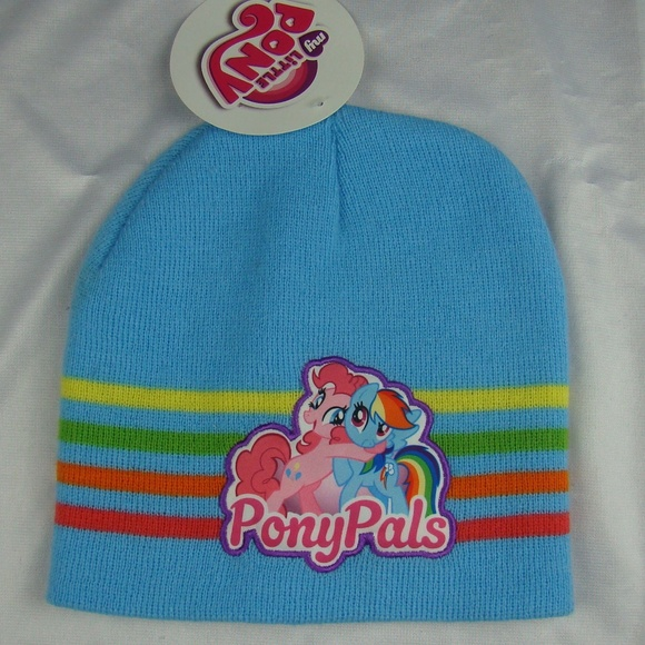 My Little Pony PonyPals Winter Knit Beanie Hat Cap 153b43f5148
